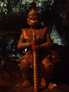 Just a statue guarding the temple of the golden tree