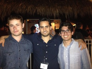 Me and some Mexican sellers who I met before the conference.