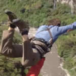 Bungee Jumping: Before, During And After